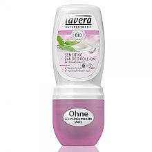 Profumi e cosmetici Deodorante roll-on per la pelle delicata e sensibile - Lavera Sensitive 24h Deo Roll-On
