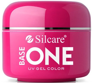 Gel per unghie - Silcare Base One Red Gel Color