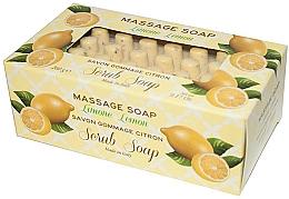 """Profumi e cosmetici Sapone da massaggio """"Limone"""" - Gori 1919 Massage Scrub Soap Lemon"""