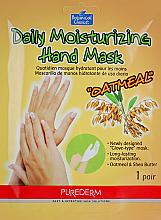 Profumi e cosmetici Maschera mani - Purederm Daily Moisturizing Hand Mask Oatmel