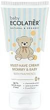Profumi e cosmetici Crema universale per mamma e bambino con D-pantenolo - Ecolatier Baby