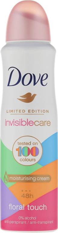 Deodorante antitraspirante - Dove Invisible Care Floral Touch Antiperspirant Limited Edition