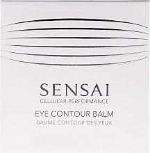 Profumi e cosmetici Balsamo contorno occhi - Kanebo Sensai Cellular Performance Eye Contour Balm