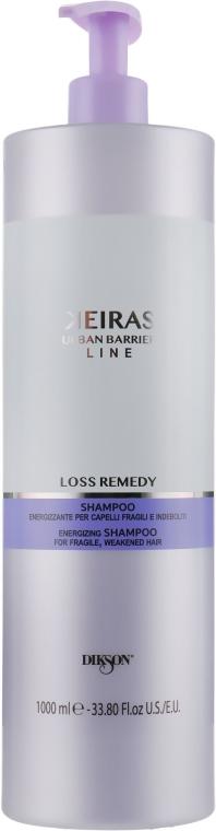 Shampoo anticaduta, per stimolare la crescita dei capelli - Dikson Keiras Urban Barrier Loss Remedy Shampoo