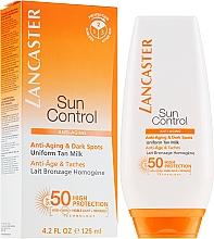 Profumi e cosmetici Latte solare - Lancaster Sun Control Body Uniform Tan Milk Spf 50