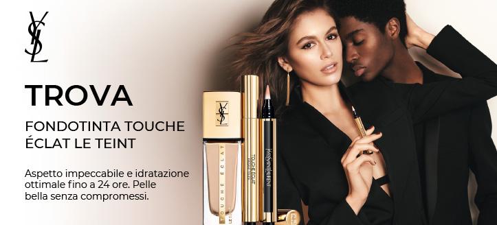 Acquistando cosmetici Yves Saint Laurent da 35 €, ricevi in regalo una matita occhi