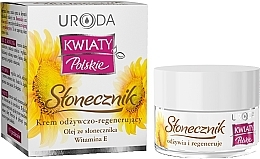 Profumi e cosmetici Crema nutriente viso - Uroda Kwiaty Polskie Stonecznik Cream