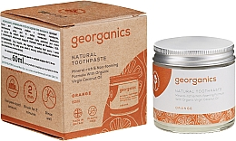 Profumi e cosmetici Dentifricio naturale - Georganics Red Mandarin Natural Toothpaste