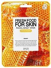 "Profumi e cosmetici Maschera viso ""Miele"", in tessuto - Superfood For Skin Facial Sheet Mask Honey Strenghtening"
