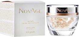 Profumi e cosmetici Perle di bellezza rivitalizzanti per viso - Oriflame NovAge Nutri6 Facial Oil Capsules