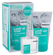 Profumi e cosmetici Mexx Look Up Now for Him - Set (edt 50ml + sh/gel 150ml)