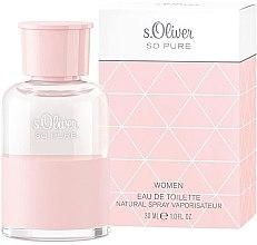 Profumi e cosmetici S. Oliver So Pure Women - Eau de toilette