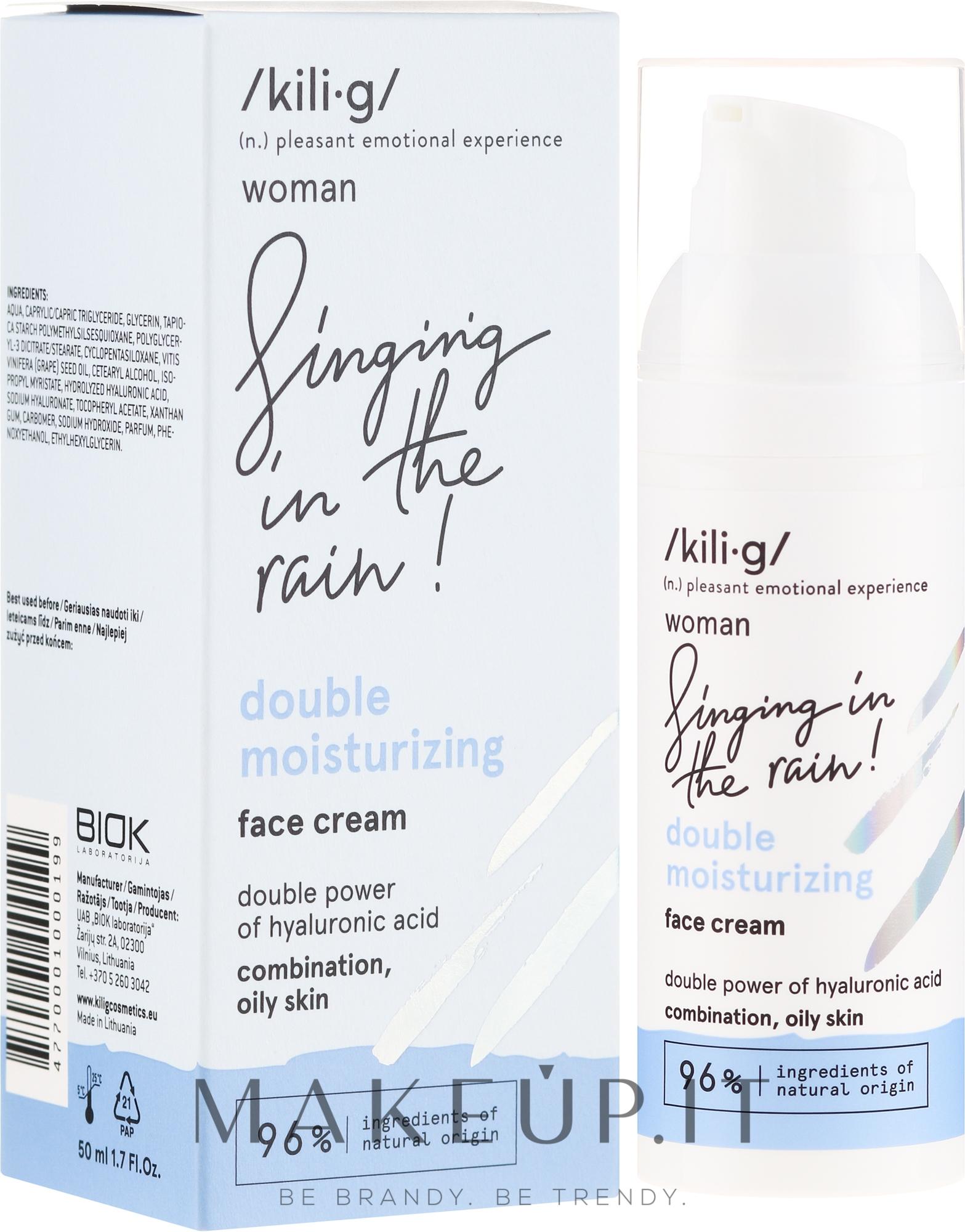 Crema viso idratante - Kili·g Woman Double Moisturizing Cream — foto 50 ml