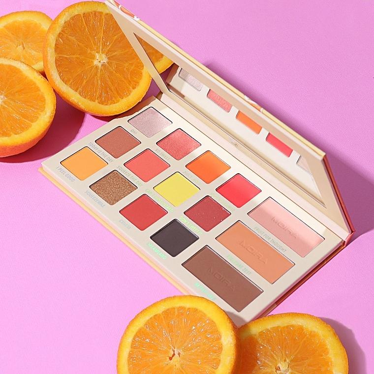 Palette di ombretti - Moira Oh, My Peelings Palette Pressed Pigments Palette — foto N4