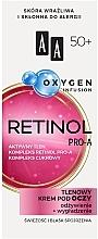 Profumi e cosmetici Crema contorno occhi all'ossigeno 50+ - AA Oxygen Infusion Retinol Pro-A Eye Cream