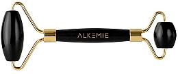 Profumi e cosmetici Rullo per massaggio facciale - Alkemie Face Roller Jet Black