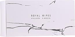 Profumi e cosmetici Salviettine idratanti e curative per viso - N-Medical Hyaluron Royal Wipes