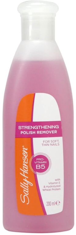 Solvente unghie - Sally Hansen Strengthening Polish Remover With Vitamin E