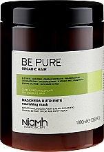 Profumi e cosmetici Maschera nutriente per capelli secchi - Niamh Hairconcept Be Pure Nourishing Mask