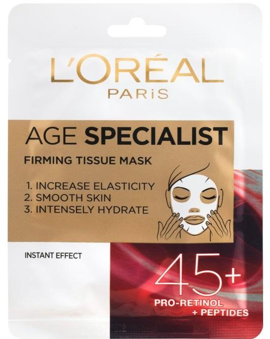 Maschera per levigare la pelle istantaneamente - L'Oreal Paris Age Specialist 45+