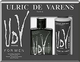 Profumi e cosmetici Ulric de Varens UDV - Set (edt/100ml+deo/200ml)