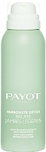 Profumi e cosmetici Spray per alleviare le gambe stanche - Payot Herboriste Detox Brume Jambes Legeres