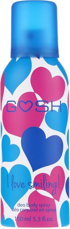 Deodorante spray - Gosh I Love Smiling Deo Body Spray