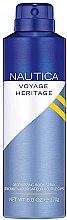 Profumi e cosmetici Nautica Voyage Heritage - Deodorante spray