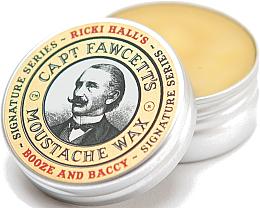 Profumi e cosmetici Cera per baffi - Captain Fawcett Ricki Hall Booze & Baccy Moustache Wax
