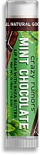 Profumi e cosmetici Balsamo labbra - Crazy Rumors Mint Chocolate Lip Balm