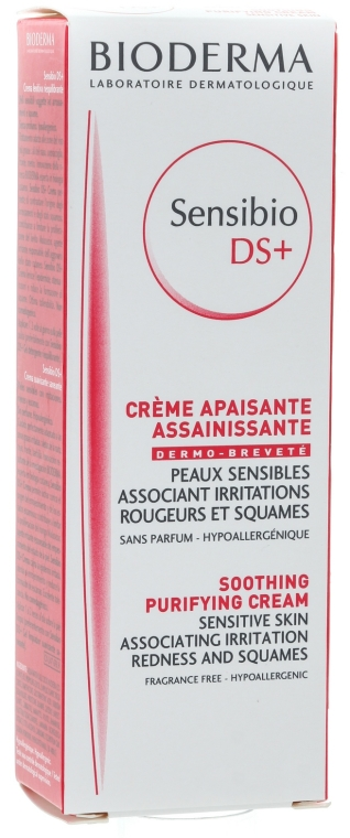 Crema lenitiva purificante - Bioderma Sensibio DS+ Soothing Purifying Cleansing Cream