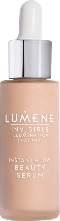 Siero tonificante - Lumene Invisible Illumination Instant Glow Beauty Serum