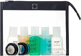 Set - Ofra Skin Care Kit Oily (cleanser/30ml + f/ton/30ml + eye/remover/30ml + ser/30ml + f/lot/30ml + b/scrub/7ml + f/mask/7ml + bag) — foto N1
