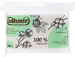 Profumi e cosmetici Bastoncini cotonati, 160 pezzi - Cashmir Natural Cotton Buds