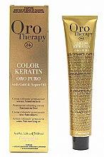 Tinta-crema per capelli senza ammoniaca - Fanola Oro Therapy Color Keratin Oro Puro — foto N2