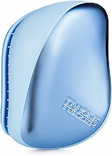 Profumi e cosmetici Spazzola per capelli - Tangle Teezer Compact Styler Sky Blue Delight Chrome