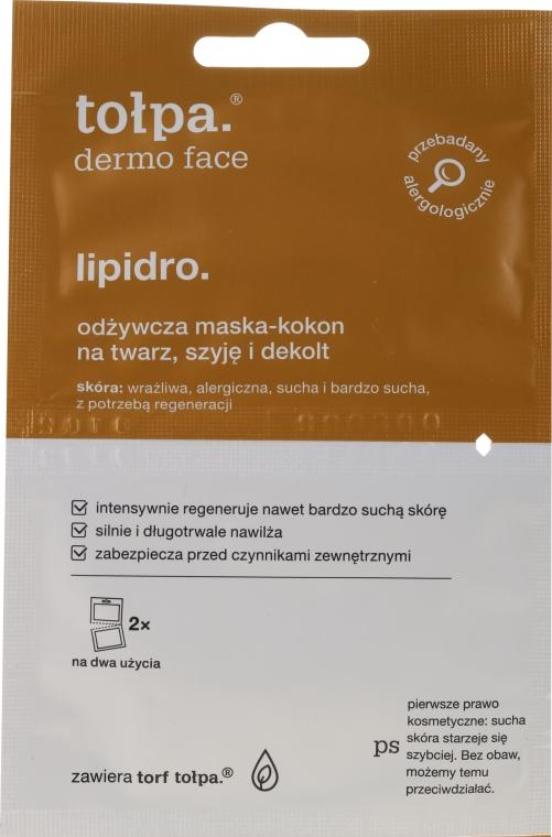 Maschera nutriente e rigenerante per viso, collo e décolleté - Tolpa Dermo Face Lipidro Face Mask