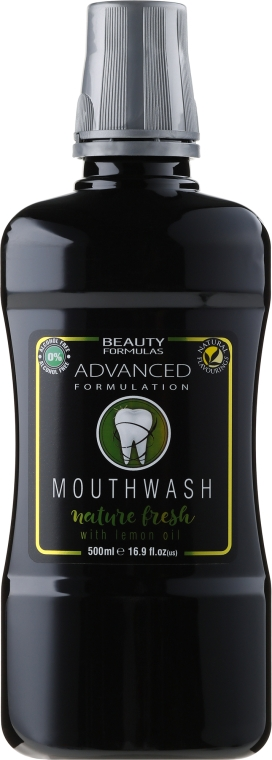 Collutorio - Beauty Formulas Active Oral Care Mouthwash Nature Fresh