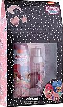 Profumi e cosmetici Set - Uroda Polska Shimmer Shine Gift Set (sh/gel/250ml + b/mist/110ml + stickers)