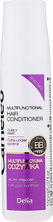 Condizionante per capelli ricci alla cheratina - Delia Cameleo Liquid Keratin Curly Hair
