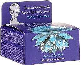 Profumi e cosmetici Idrogel patch per illuminare contorno occhi con estratto di camomilla - Petitfee&Koelf Agave Cooling Hydrogel Eye Mask