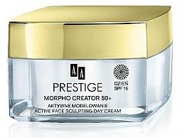Profumi e cosmetici Crema viso da giorno - AA Prestige Morpho Creator 50+ Active Face Sculpting Day Cream SPF15