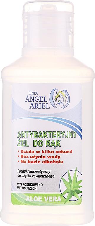 Gel mani antibatterico con estratto di aloe vera - Linea Angel Ariel Antibacterial Hand Gel Aloe Vera