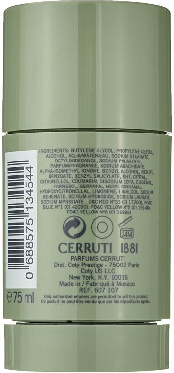 Cerruti 1881 Pour Homme Deodorant Stick - Deodorante stick — foto N2