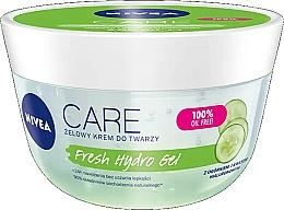 Profumi e cosmetici Gel di acido ialuronico idratante per viso, con estratto di cetriolo - Nivea Care Fresh Hydro Gel