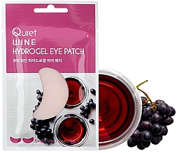 Profumi e cosmetici Patch occhi - Quret Wine Hydrogel Eye Patch