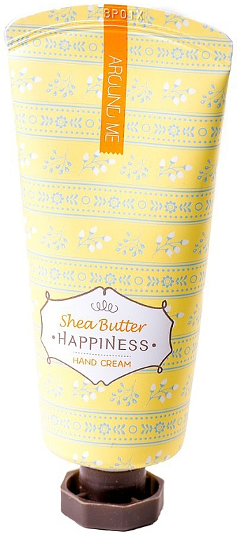 Crema mani al burro di karitè - Welcos Around Me Happiness Hand Cream Shea Butter