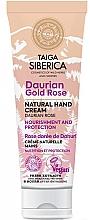 "Profumi e cosmetici Crema mani protettiva ""Rosa Dauriana"" - Natura Siberica Doctor Taiga Hand Cream"
