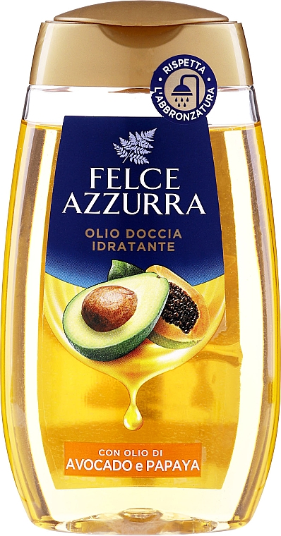"Olio doccia ""Avocado e papaia"" - Felce Azzurra Shower Oil — foto N1"