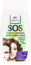 Shampoo anticaduta - Bione Cosmetics SOS Shampoo with Anti Hair Loss Ingredients — foto N1